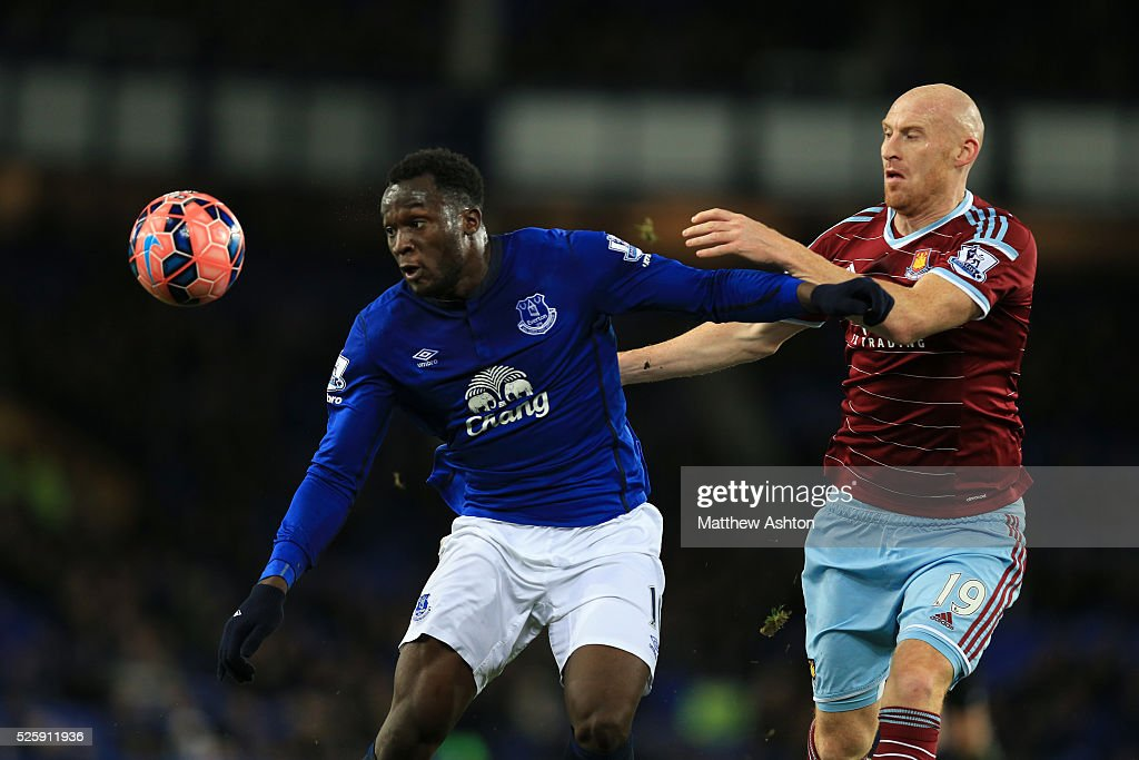 Image result for James Collins against Romelu Lukaku