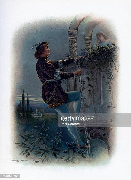 'Romeo' 1891 The hero from Romeo and Juliet A colour lithograph from Shakespeare's Heroes and Heroines after Sir A Callcott C R Leslie D Maclise A...