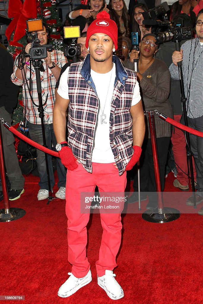 Romeo attends the FOX's 'The X Factor' Season Finale - Night 2 at CBS Television City on December 20, 2012 in Los Angeles, California.