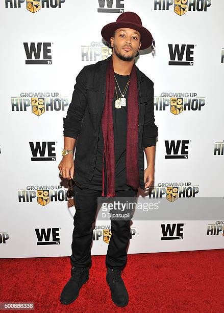 Romeo Miller attends as WE tv Celebrates The Premiere Of New Series Growing Up Hip Hop on December 10 2015 in New York City