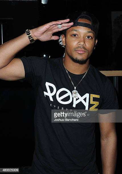 Romeo Miller attends the Jason Derulo listening party for his new album 'Talk Dirty' at 1OAK on April 7 2014 in West Hollywood California