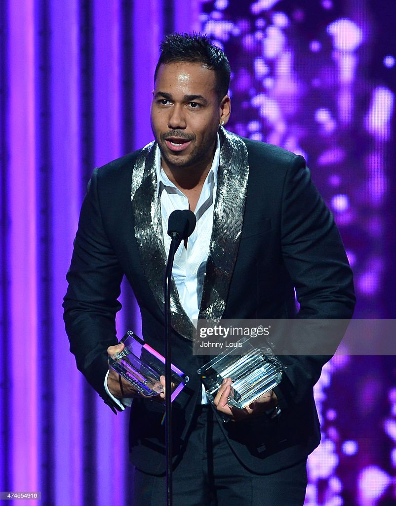Romeo Santos accepts award at the 2015 Billboard Latin Music Awards presented by State Farm on Telemundo at Bank United Center on April 30, 2015 in Miami, Florida.
