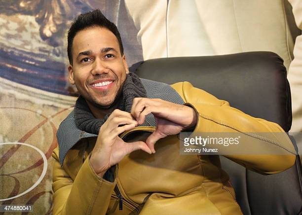Romeo Santos visits FYE on February 25 2014 in New York City