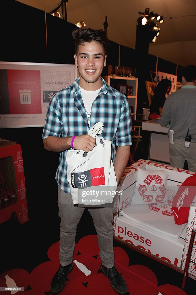 Romeo Testa attends The 40th American Music Awards - EKOCYCLE Gift Suite Day 2 at Nokia Theatre L.A. Live on November 17, 2012 in Los Angeles, California.