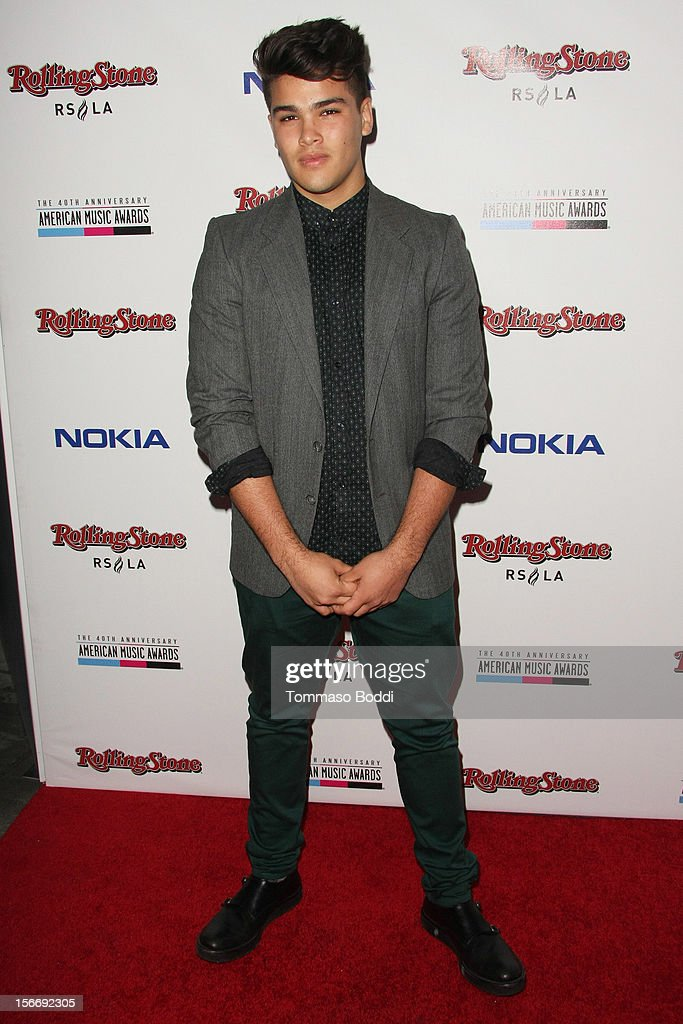 Romeo Testa attends the Rolling Stone after party for the 2012 American Music Awards presented by Nokia and Rdio held at the Rolling Stone Restaurant And Lounge on November 18, 2012 in Los Angeles, California.