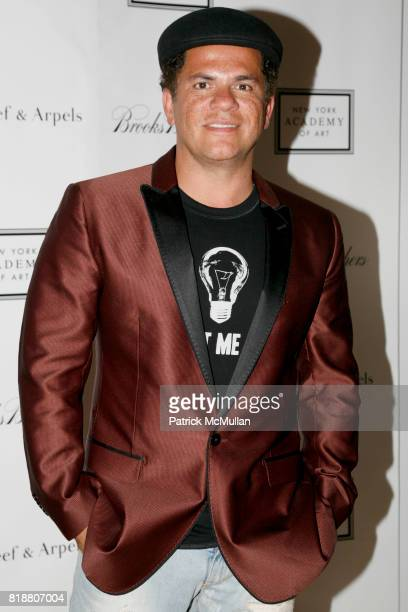 Romero Britto attends 2010 TRIBECA BALL at the NEW YORK ACADEMY OF ART at 111 Franklin St on April 13 2010 in New York