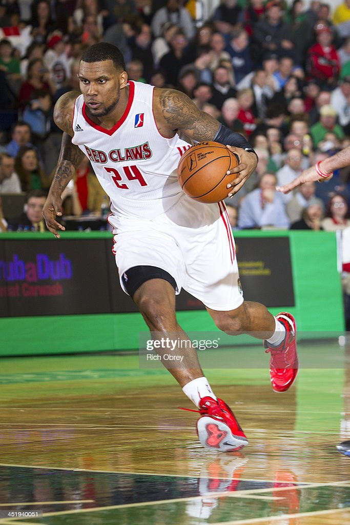 <a gi-track='captionPersonalityLinkClicked' href=/galleries/search?phrase=Romero+Osby&family=editorial&specificpeople=5757556 ng-click='$event.stopPropagation()'>Romero Osby</a> #24 of he Maine Red Claws drives to the basket against the Springfield Armor on November 22, 2013 at the Portland Expo in Portland, Maine.