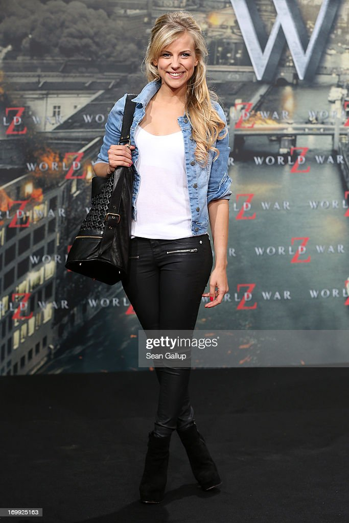 Romina Becks attends 'WORLD WAR Z' Germany Premiere at Sony Centre on June 4, 2013 in Berlin, Germany.
