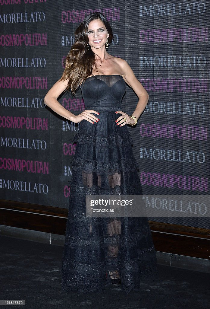 <a gi-track='captionPersonalityLinkClicked' href=/galleries/search?phrase=Romina+Belluscio&family=editorial&specificpeople=7312719 ng-click='$event.stopPropagation()'>Romina Belluscio</a> attends the Cosmopolitan Beauty Awards at Platea Restaurant on July 7, 2014 in Madrid, Spain.