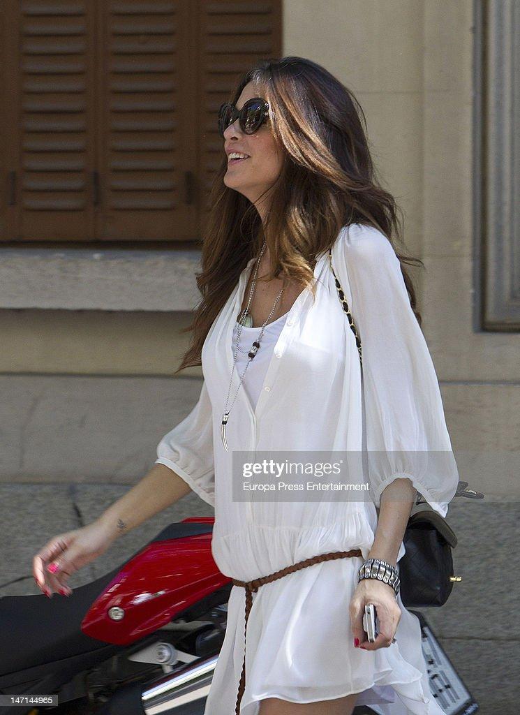 Romina Belluscio is seen on June 25 2012 in Madrid Spain