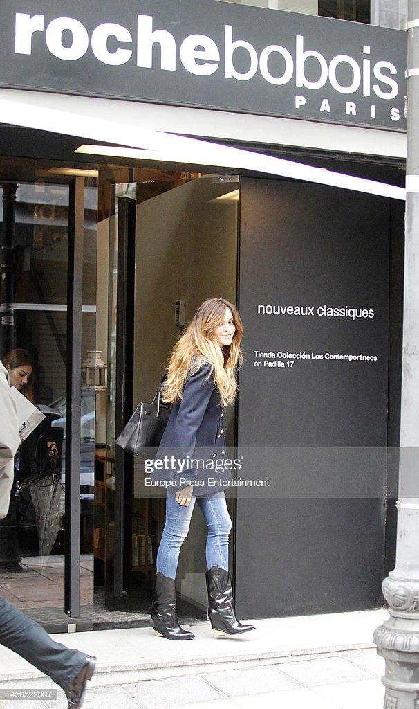 Romina Belluscio is seen on November 18 2013 in Madrid Spain