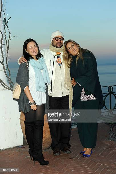 Romina Carrisi Yari Carrisi and Romina Power attend the third day of the 15th Annual Capri Hollywood International Film Festival on December 29 2010...