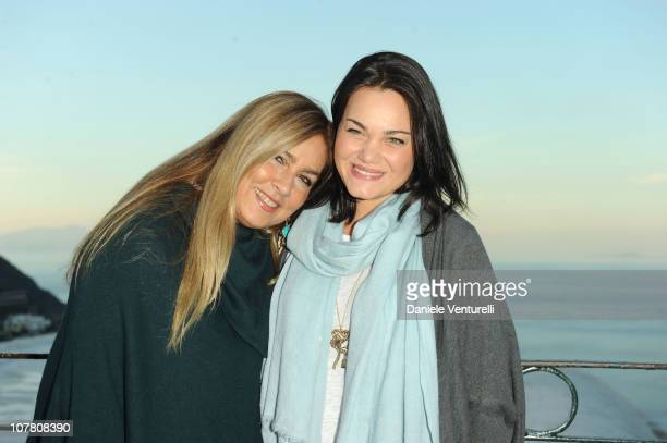 Romina Power and Romina Carrisi attend the third day of the 15th Annual Capri Hollywood International Film Festival on December 29 2010 in Capri Italy