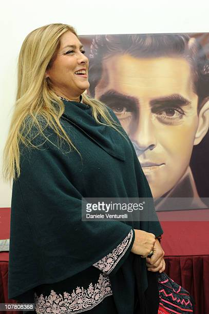 Romina Power attends the third day of the 15th Annual Capri Hollywood International Film Festival on December 29 2010 in Capri Italy
