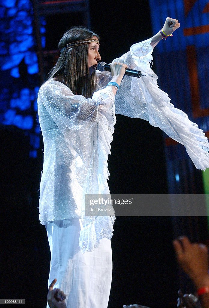 Romina Vitale during MTV Video Music Awards Latin America 2003 - Live Telecast at Jackie Gleason Theater in Miami Beach, Florida, United States.