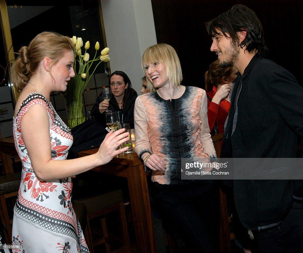 Romola Garai, Amy Astley and Diego Luna during Olympus ...