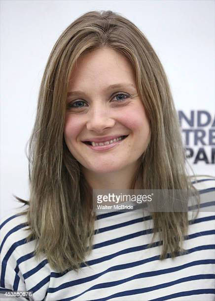 Romola Garai attends the 'Indian Ink' Cast Photocall at Roundabout Theatre Company Rehearsal Hall on August 20 2014 in New York City