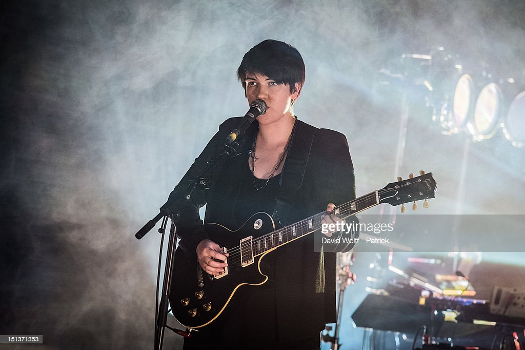 <a gi-track='captionPersonalityLinkClicked' href=/galleries/search?phrase=Romy+Madley+Croft&family=editorial&specificpeople=6078322 ng-click='$event.stopPropagation()'>Romy Madley Croft</a> from The XX Performs at Le Cirque d'Hiver on September 6, 2012 in Paris, France.