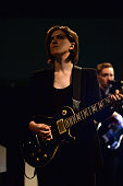 Romy Madley Croft of The xx performs at the Guggenheim International Gala PreParty made possible by Dior on November 5 2014 in New York City