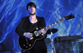 Romy Madley Croft of The XX performs live on stage at Shepherds Bush Empire to support the release of their second album Coexist on September 10 2012...