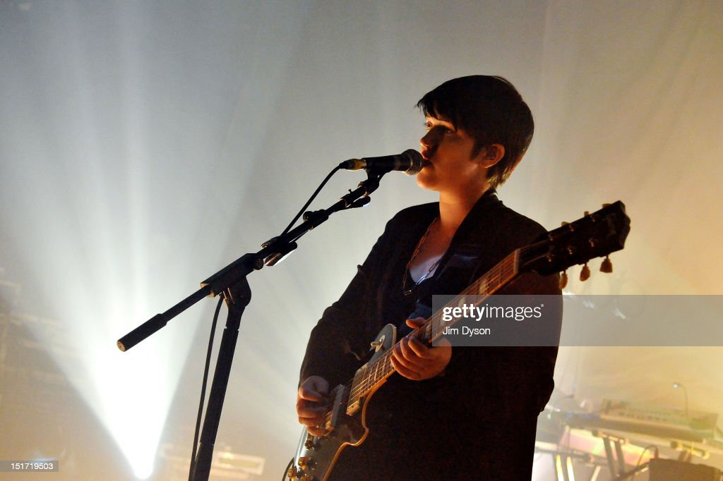 <a gi-track='captionPersonalityLinkClicked' href=/galleries/search?phrase=Romy+Madley+Croft&family=editorial&specificpeople=6078322 ng-click='$event.stopPropagation()'>Romy Madley Croft</a> of The XX performs live on stage at Shepherds Bush Empire to support the release of their second album, Coexist, on September 10, 2012 in London, United Kingdom.