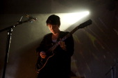 Romy Madley Croft of The xx performs on stage at La Riviera on November 13 2012 in Madrid Spain