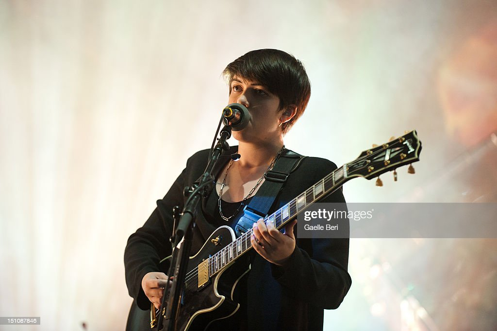 Romy Madley Croft of The XX performs on stage during Electric Picnic on August 31, 2012 in Stradbally, Ireland.