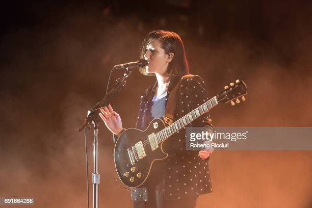 Romy Madley Croft of The XX performs on stage during Primavera Sound Festival 2017 Day 3 at Parc del Forum on June 2 2017 in Barcelona Spain