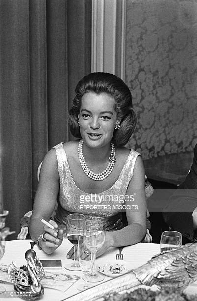 Romy Schneider was awarded the Cristal stars from the Academy of cinema