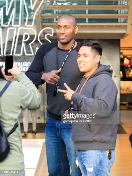 Ron Artest is seen on May 25 2017 in Los Angeles California