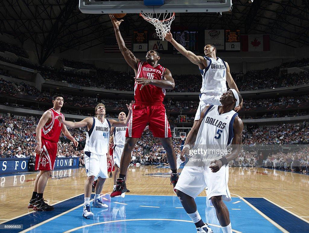 Houston Rockets v Dallas Mavericks s and