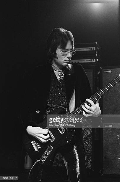 Ron Asheton of The Stooges performs live at Bimbo's Club in 1974 in San Francisco California