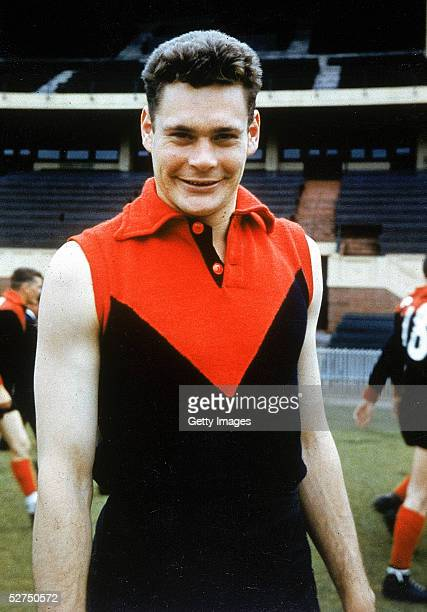Ron Barassi of the Melbourne Demons during AFL training held at the Melbourne Cricket Ground in Melbourne Australia