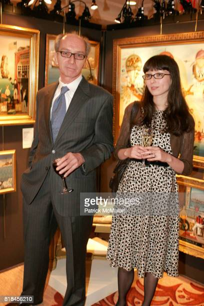 Ron Cayen and Eden Cayen attend Keno Auctions Private Preview Party at Regency Hotel on January 22 2010 in New York City
