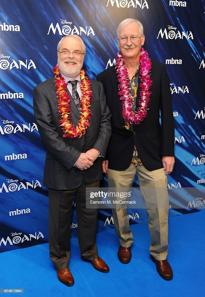 Ron Clements and John Musker attend the UK Gala screening of 'MOANA' at BAFTA on November 20, 2016 in London, England.