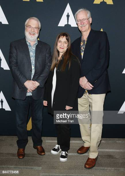 Ron Clements Osnat Shurer and John Musker attend the 89th Annual Academy Awards Oscar Week celebrates Animated Features held at Samuel Goldwyn...