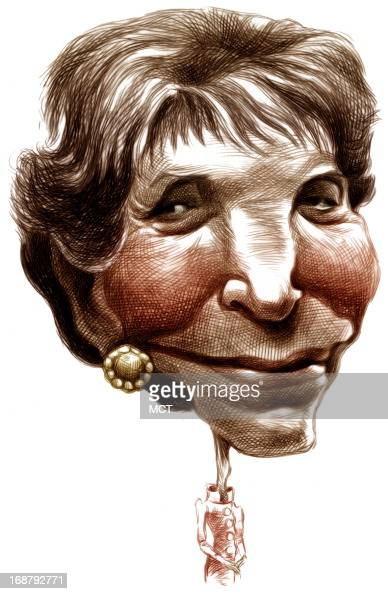 caricature nancy reagan pictures getty images