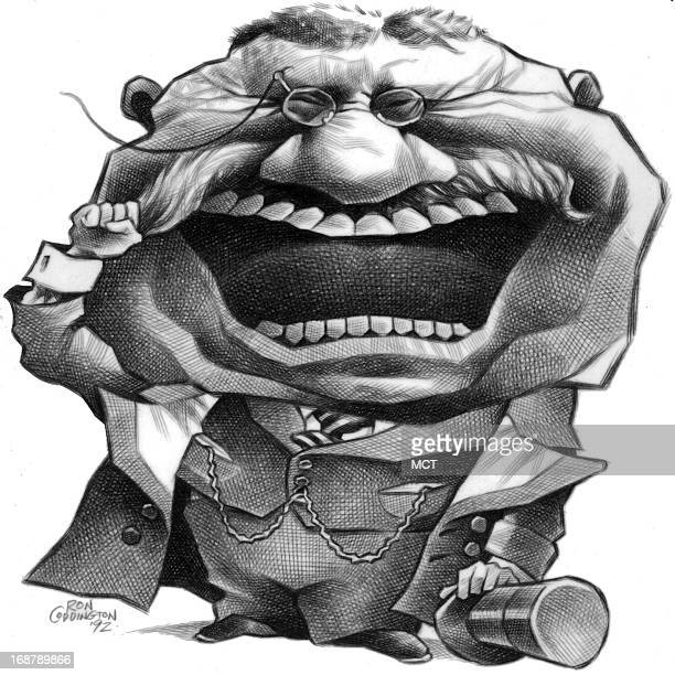 Ron Coddington caricature of Theodore Roosevelt