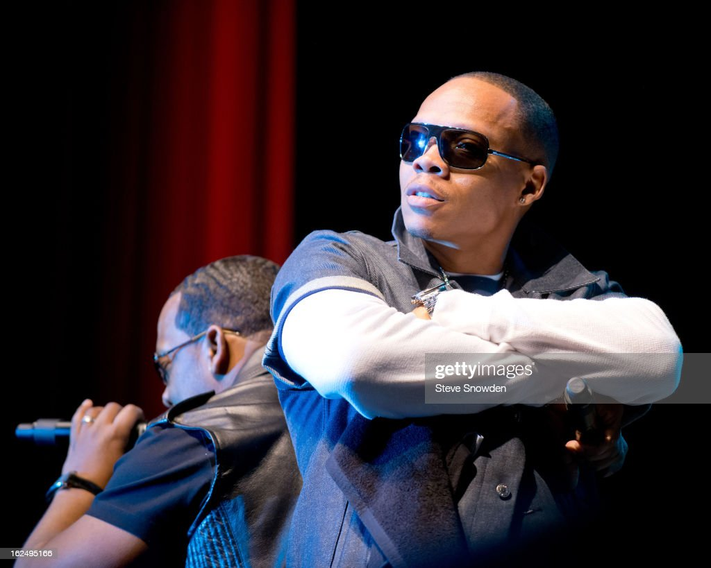 Ron DeVoe performs with Bel Biv DeVoe at Route 66 Casino's Legends Theater on FEBRUARY 23, 2013 in Albuquerque, New Mexico.