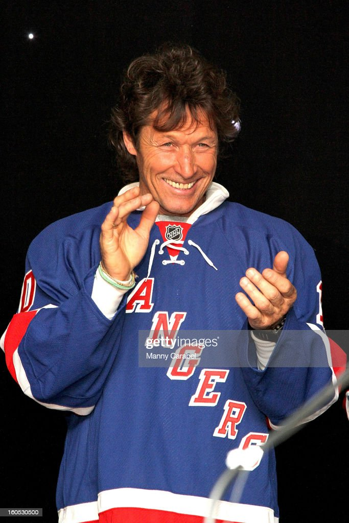 Ron Duguay attends The New York Rangers 19th Annual 'Skate With The Greats' Event Benefiting The Ronald McDonald House New York at The Rink at Rockefeller Center on February 1, 2013 in New York City.