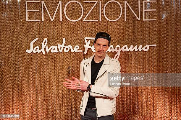 Ron Flieger poses during the Salvatore Ferragamo Emozione Fragrance Launch event at Residenz on February 5 2015 in Munich Germany