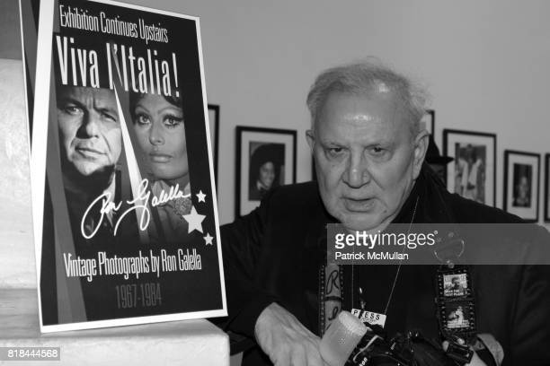 Ron Galella attends Ron Galella Book Launch Party For Man in the Mirror Michael Jackson and Viva I'Italia at PowerHouse Arena on January 27 2010 in...