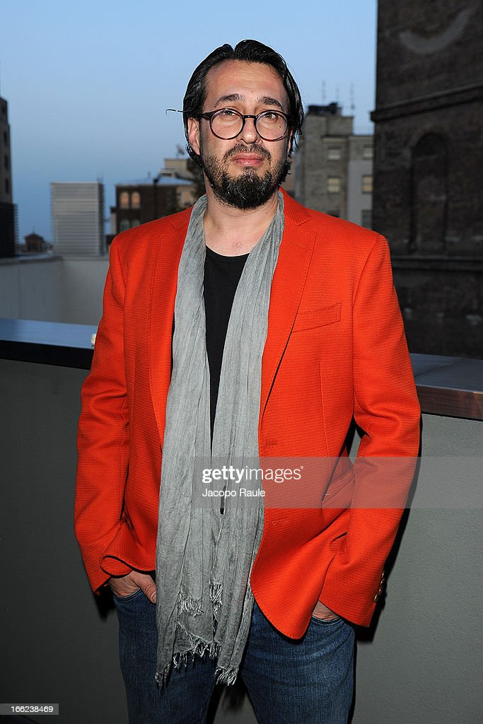 Ron Gilad attends Ron Gilad for Molteni&C and Salvatore Ferragamo on April 10, 2013 in Milan, Italy.