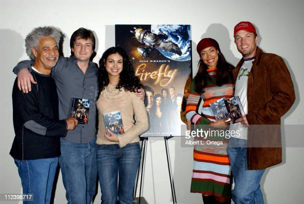 Ron Glass Nathan Fillion Morena Baccarin Gina Torres and Adam Baldwin