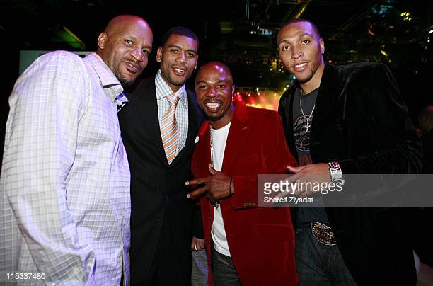 Ron Harper Allan Houston Greg Anthony and Shawn Marion