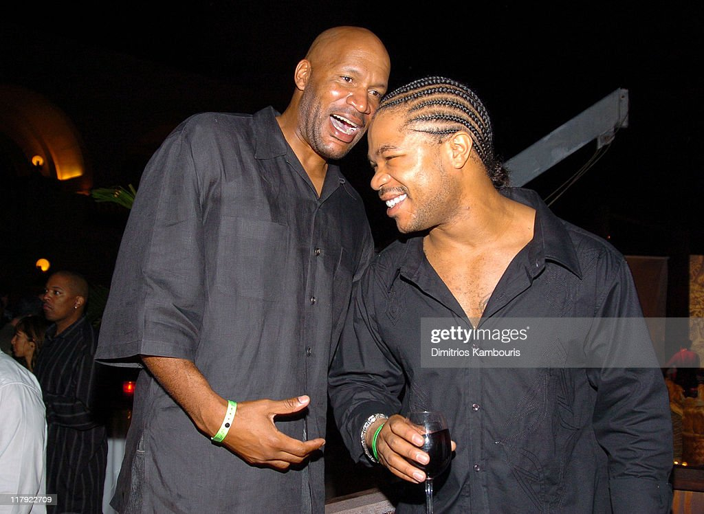 Ron Harper and Xzibit during Air Jordan Celebrates 20th Anniversary with Sneak Peek of Air Jordan XX to Kick Off Michael Jordan Celebrity Invitational at Atlantis in Paradise Island, Bahamas.