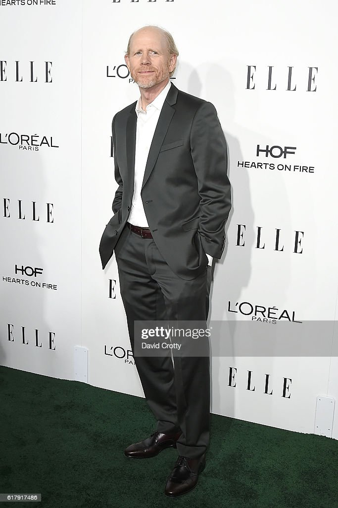 Ron Howard attends the 23rd Annual ELLE Women In Hollywood Awards - Arrivals at The Four Seasons Hotel on October 24, 2016 in Beverly Hills, California.