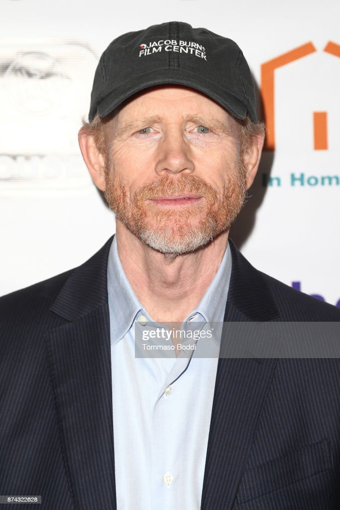 Ron Howard attends the Benefit Screening Of Digital Jungle Pictures' 'Broken Memories' at Writers Guild Theater on November 14, 2017 in Beverly Hills, California.