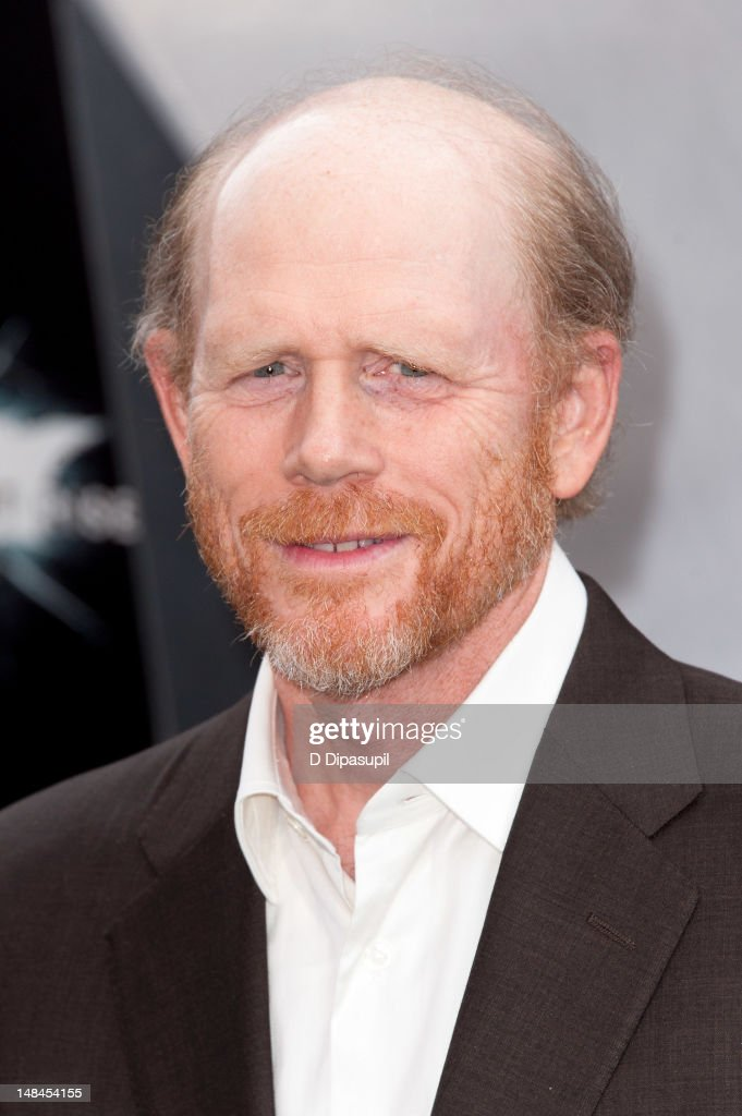 Ron Howard attends 'The Dark Knight Rises' world premiere at AMC Lincoln Square Theater on July 16 2012 in New York City