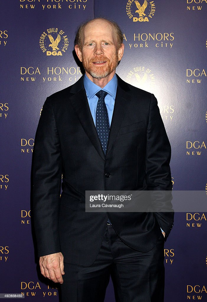 Ron Howard attends the DGA Honors Gala 2015 on October 15, 2015 in New York City.